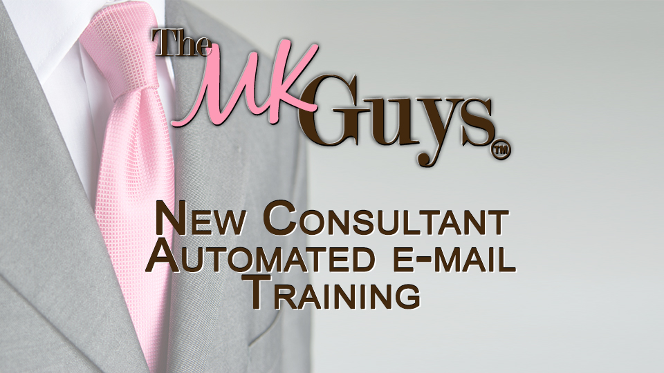 New Consultant Automated E-mail Training